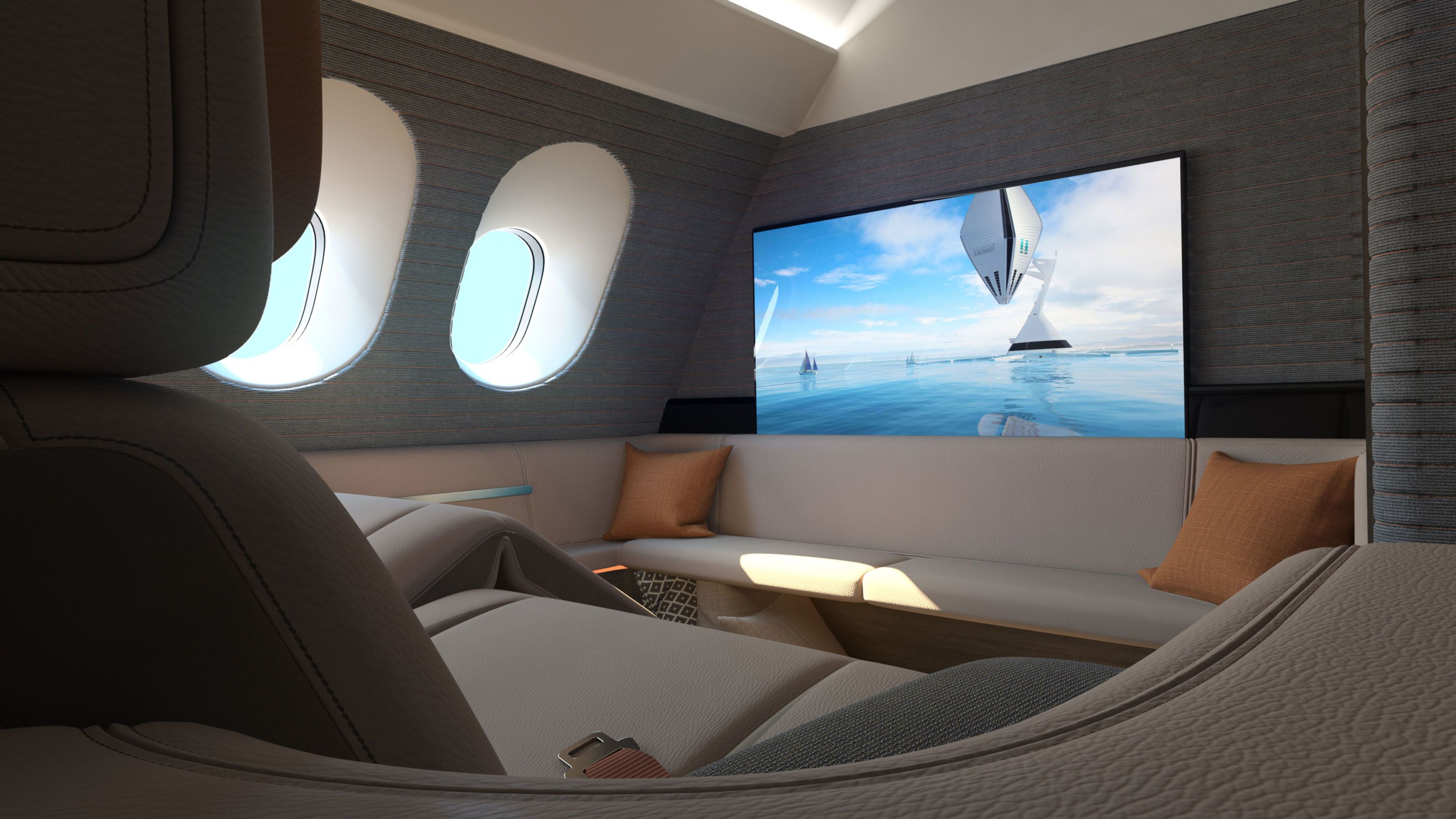The Most Spacious Airplane Seat Could Be A Bed Luxurious