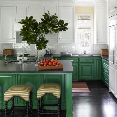 Green Kitchen Decor Cheap Small Table 24 Design Ideas Paint Colors For Kitchens