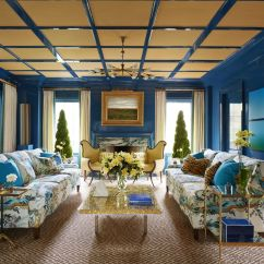 House Of Turquoise Living Room Red And Brown Decorating Ideas 50 Blue How To Use Wall Paint Decor