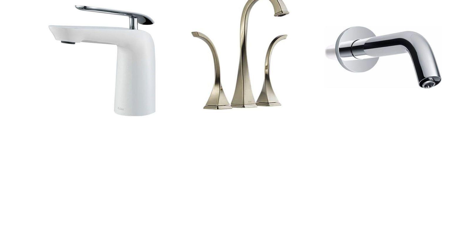 bathtub and bathroom sink faucets