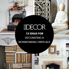 Living Room With Fireplace Decorating Ideas Gallery Furniture Tables 12 For Nonworking Design Decor