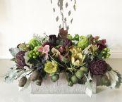 christmas floral centerpieces