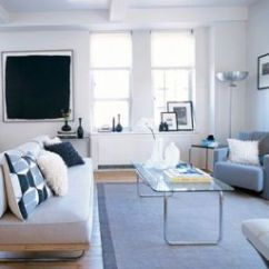 Living Room Furniture For Studio Apartments White Modern Chair Design Solutions