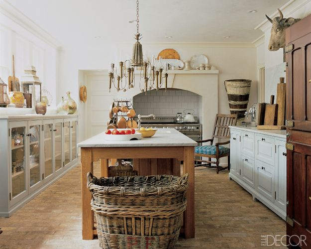 zinc top kitchen island mexican style 25 rustic decor ideas - country kitchens design