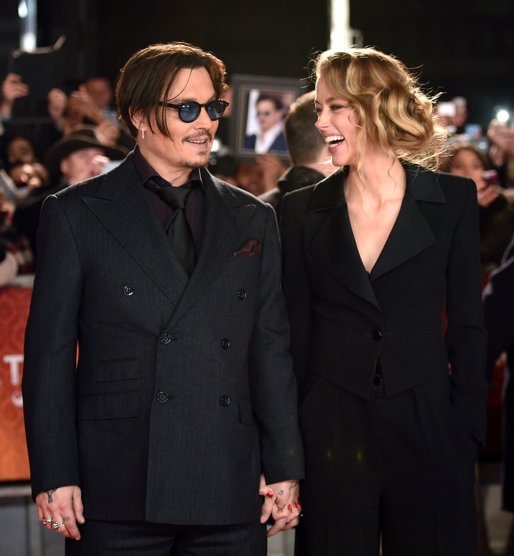 Amber Heard Johnny Depp Wedding 2