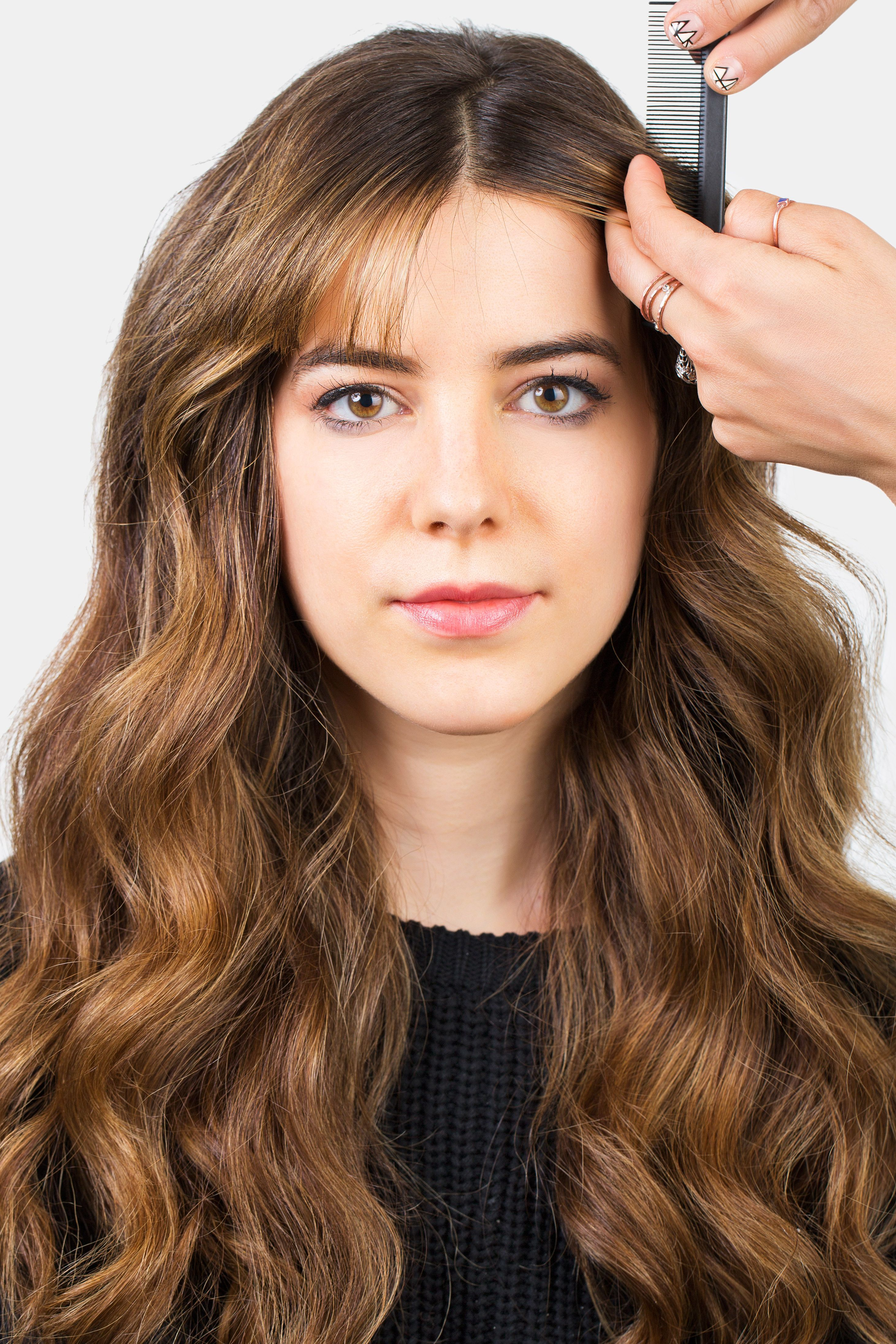 style bangs - 5 hairstyles