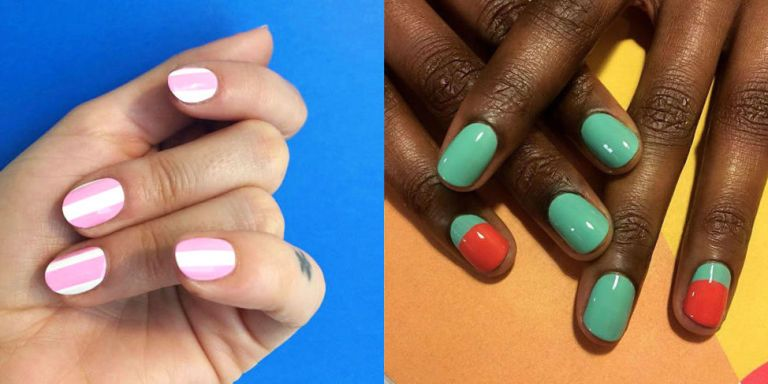 nail art short nails