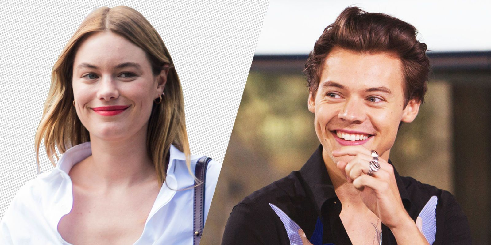 Harry Styles Fall Wallpaper Harry Styles Dating Camille Rowe Report Harry Styles