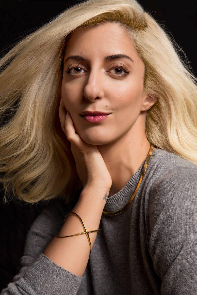 Platinum Card A Lifelong Brunette Goes Ultra Blonde