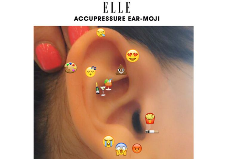According to blakeway rubbing the external ear nub can work as an appetite suppressant similarly if you play with eg ring should feel  little also acupuncture points piercing improve your sex life rh elle