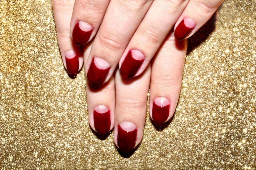 How To Create A Half Moon Manicure In 4 Easy Steps