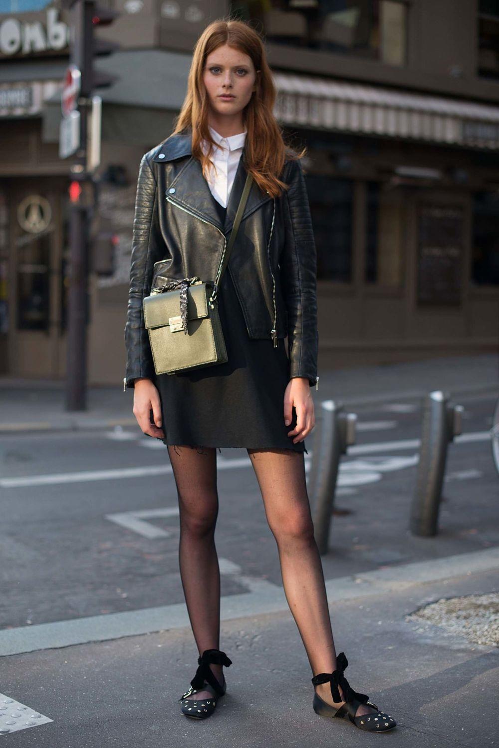 Resultado de imagen de outfit con medias negras de cristal