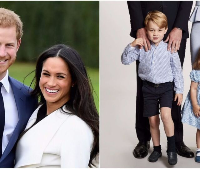 Prince Harry And Meghan Markle Will Reportedly Spend Christmas Morning With Prince George And Princess Charlotte