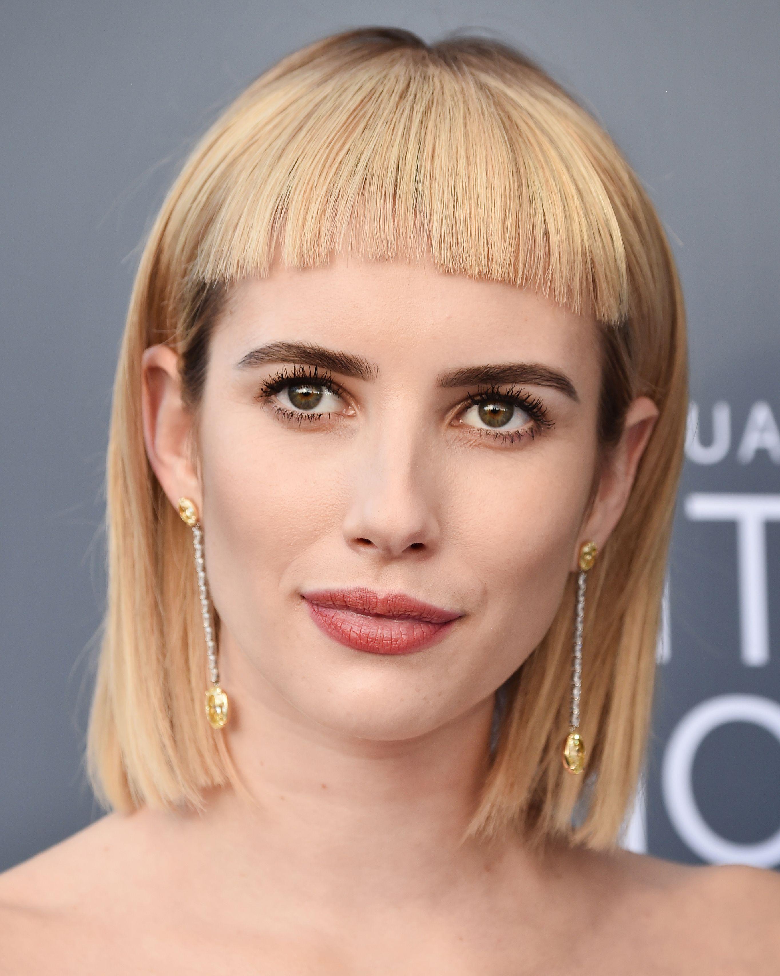 fringe hairstyles 2019