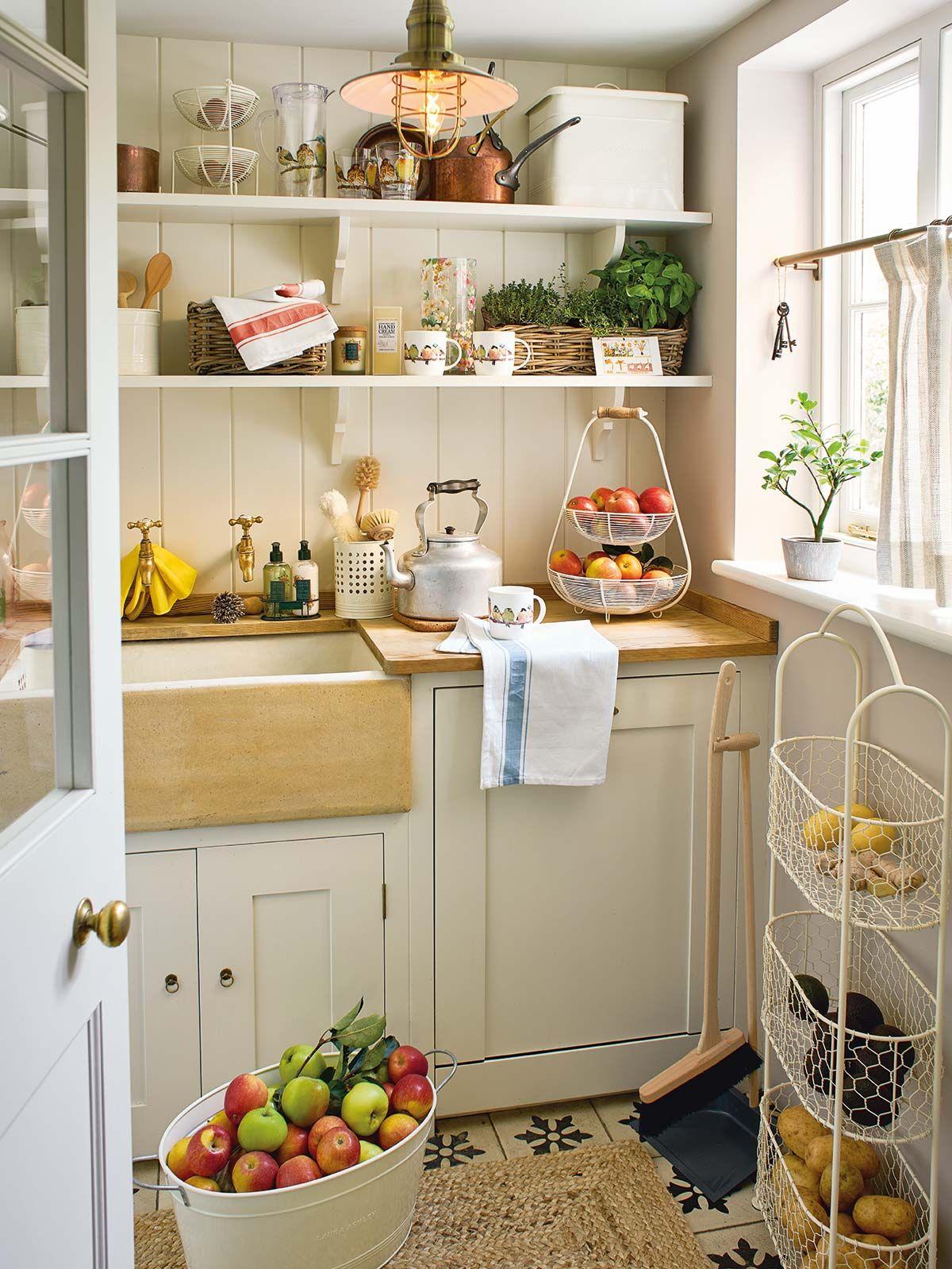 Ideas para decorar tu cocina con un encantador estilo rstico
