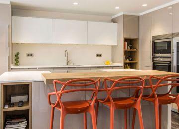 Ideas De Cocina Y Comedor   Cocina Independiente Sala Pequeña Y ...