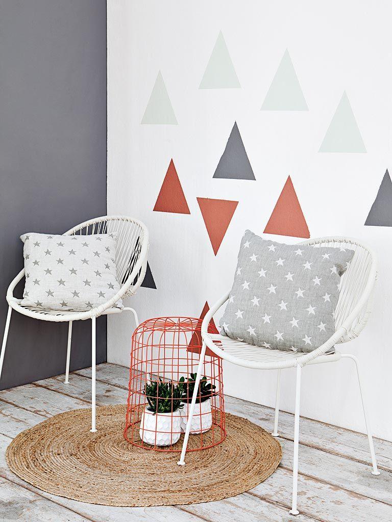Pintar las paredes con efectos muy decorativos