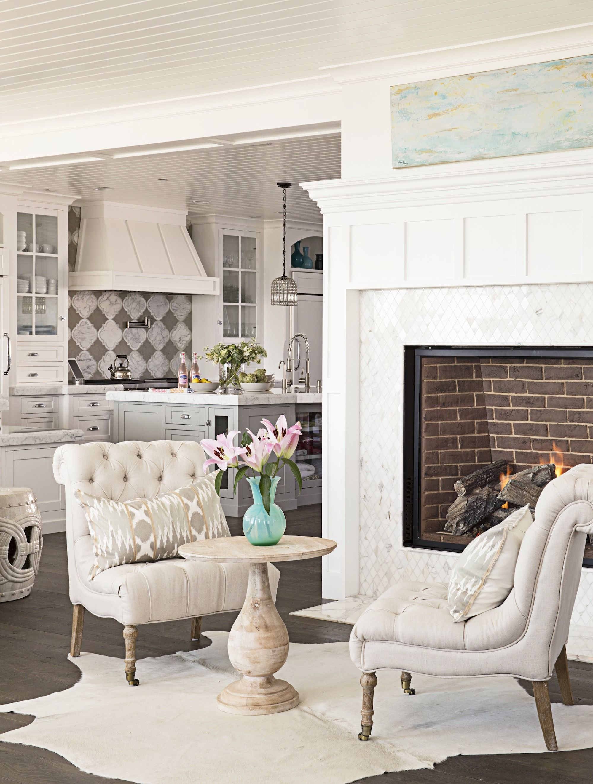 beach style decorating living room wall colors images house coastal tips and tricks fireplace