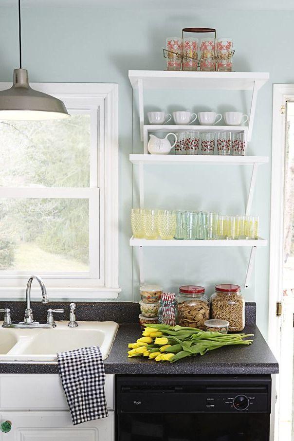 17 Ideas para pintar la cocina y resaltar la decoración de tu hogar ...