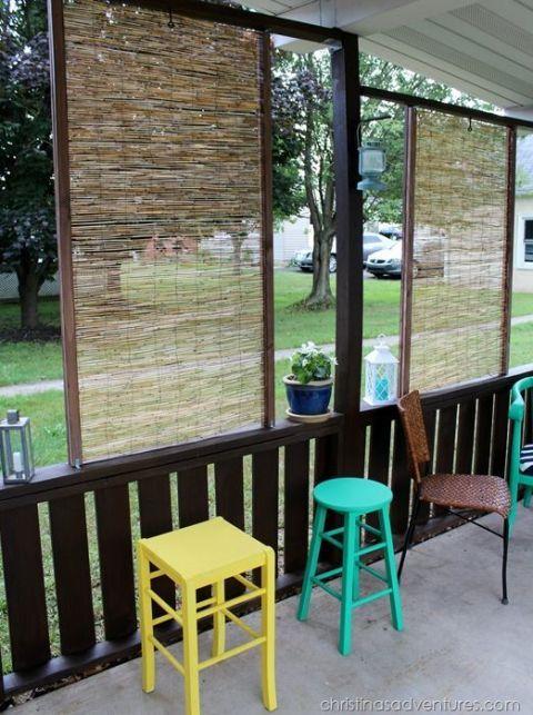 diy patio privacy screens backyard