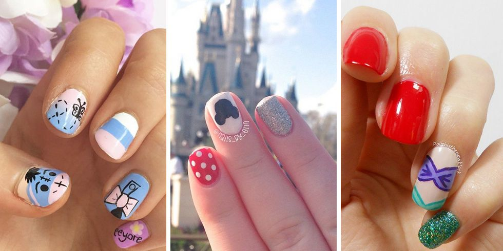 disney inspired manicures
