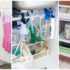 Under Kitchen Sink Organizer Sets For Sale The Organization Bathroom And Organizing Tips Image