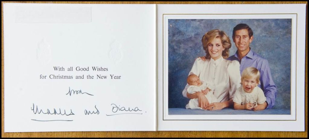 Royal Family Christmas Cards Through The Years British