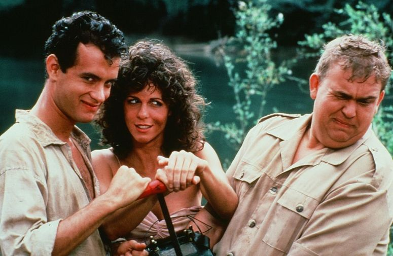 tom hanks and rita wilson - volunteers 1984
