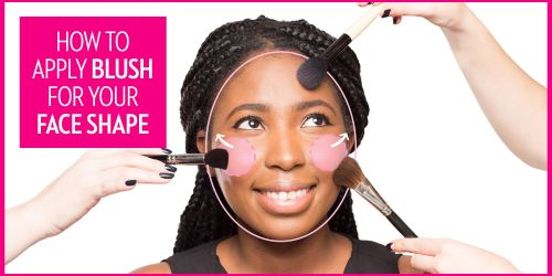 small resolution of the best way to apply blush according to your face shape