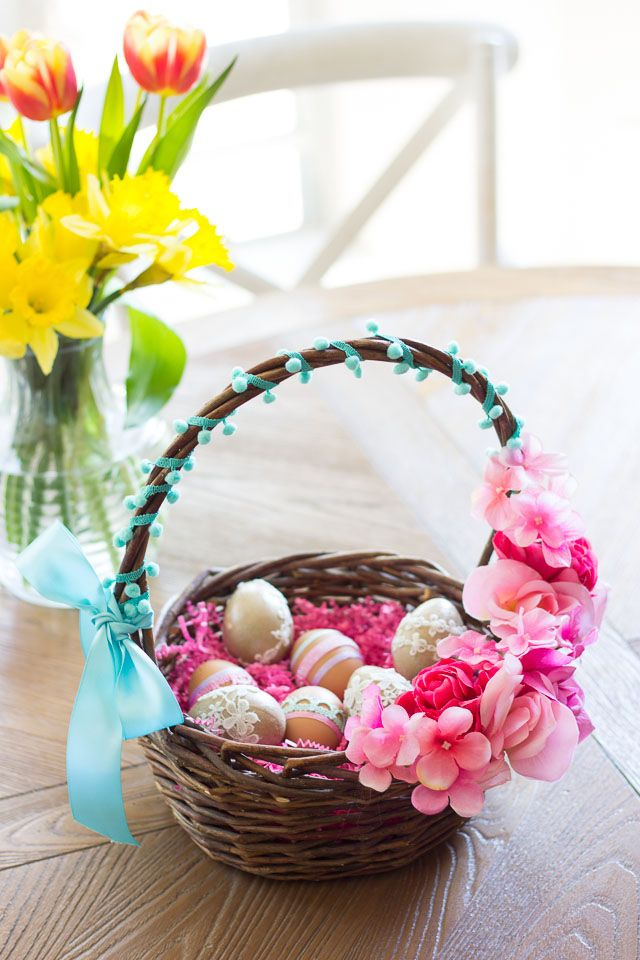 39 Diy Easter Basket Ideas Unique Homemade Baskets Good Housekeeping