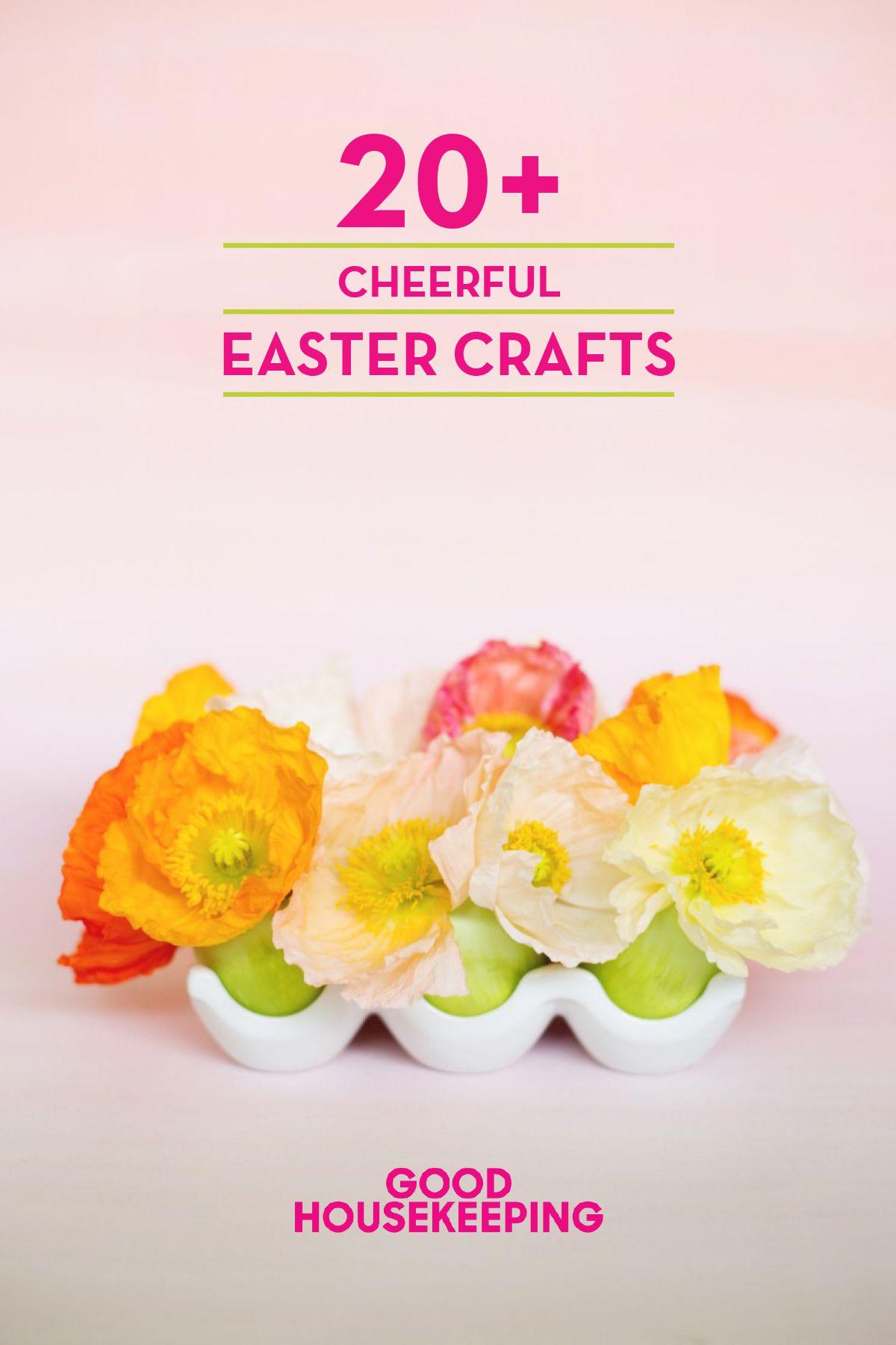 45 easy easter crafts