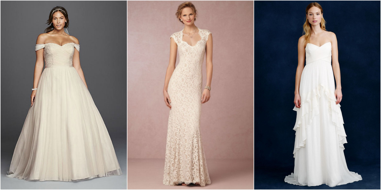 20 cheap wedding dresses
