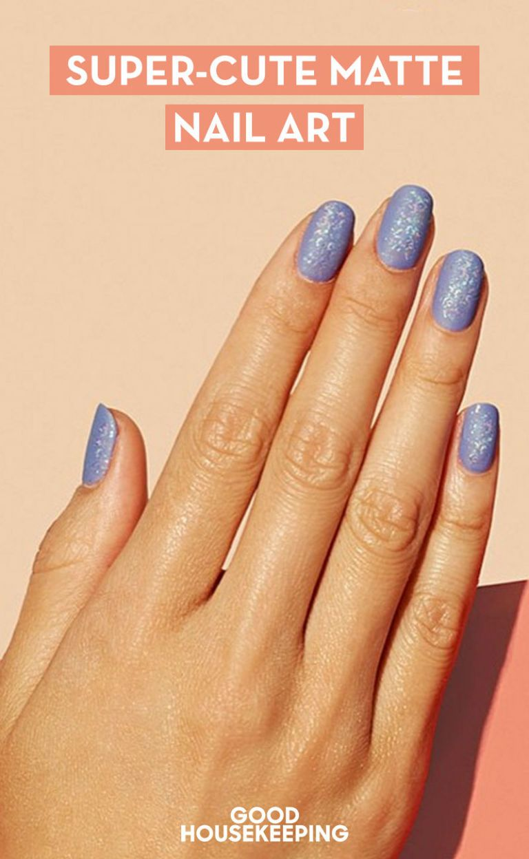 cool matte nail design ideas