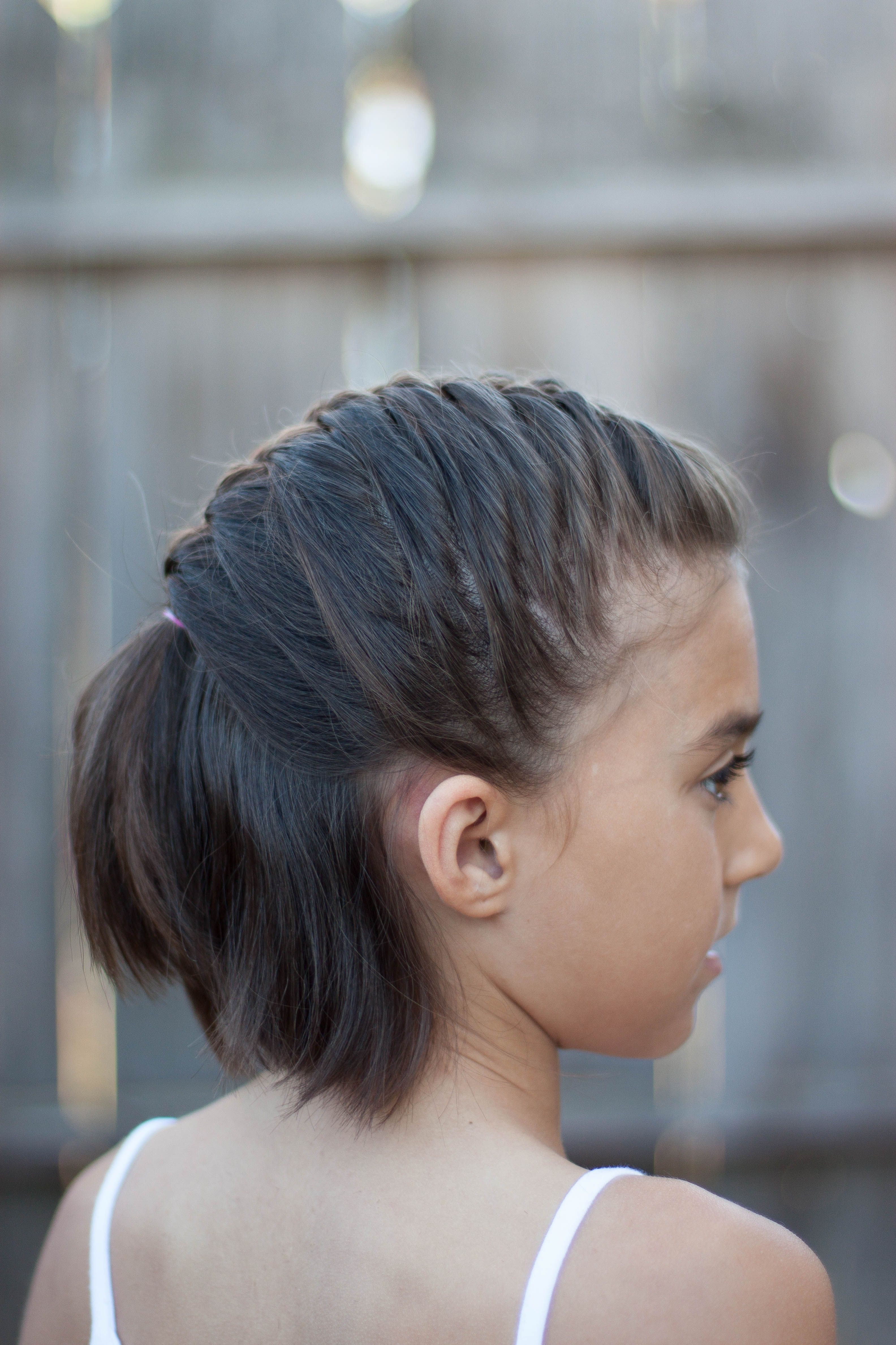 cute kids hairstyles school
