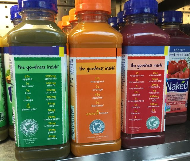 The Naked Truth About Naked Juice Pepsico Sued For Naked Juice