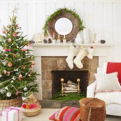 Decorate Small Living Room For Christmas And Dining Same Color 30 Decorated Tree Ideas Pictures Of Decoration