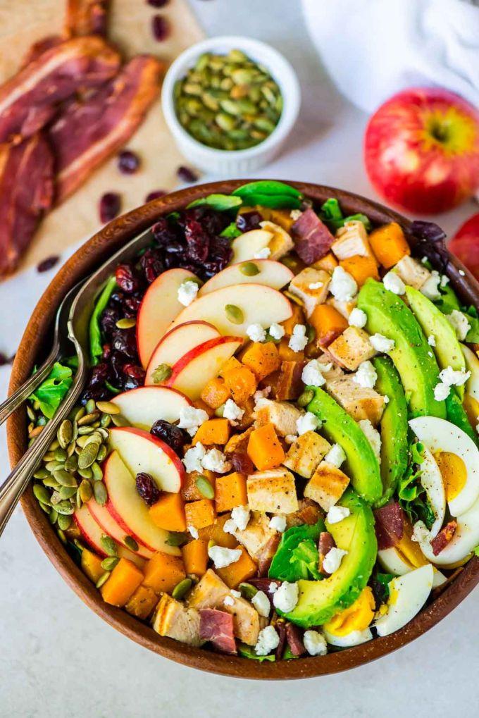 27 easy christmas salad recipes healthy holiday ideas