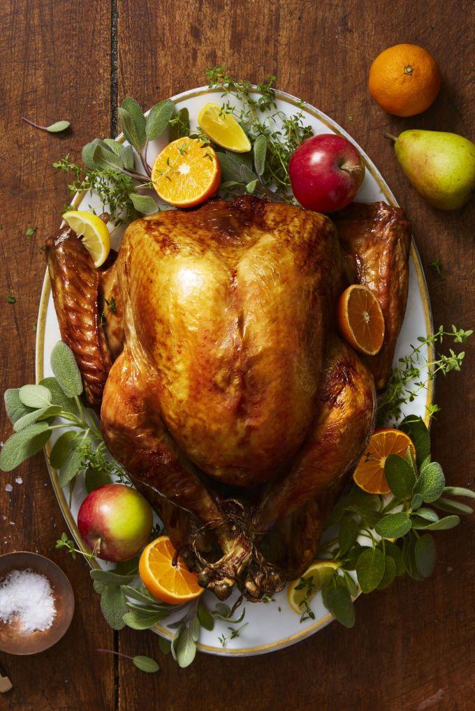 Golden Herb-Roasted Turkey