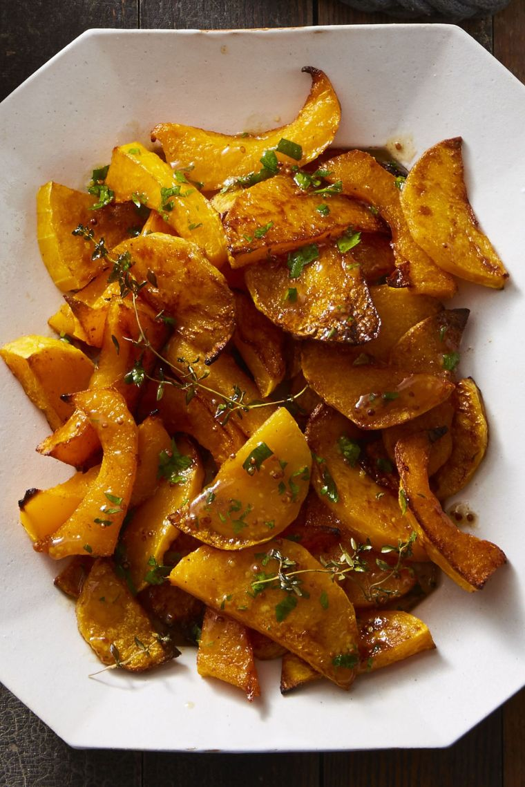 Spice-Roasted Butternut Squash with Cider Vinaigrette
