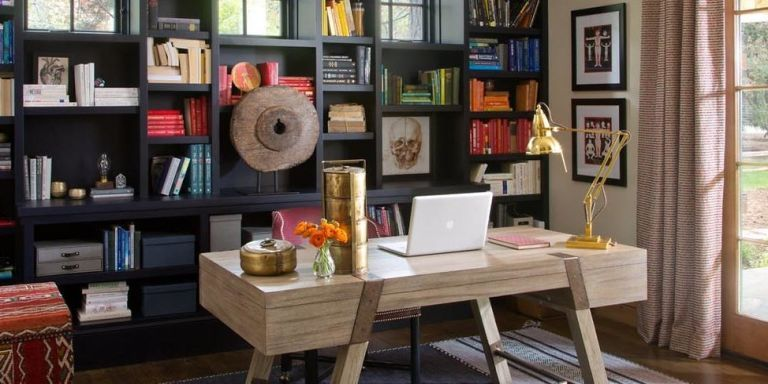home office in living room ideas design 10 best decorating decor and organization for