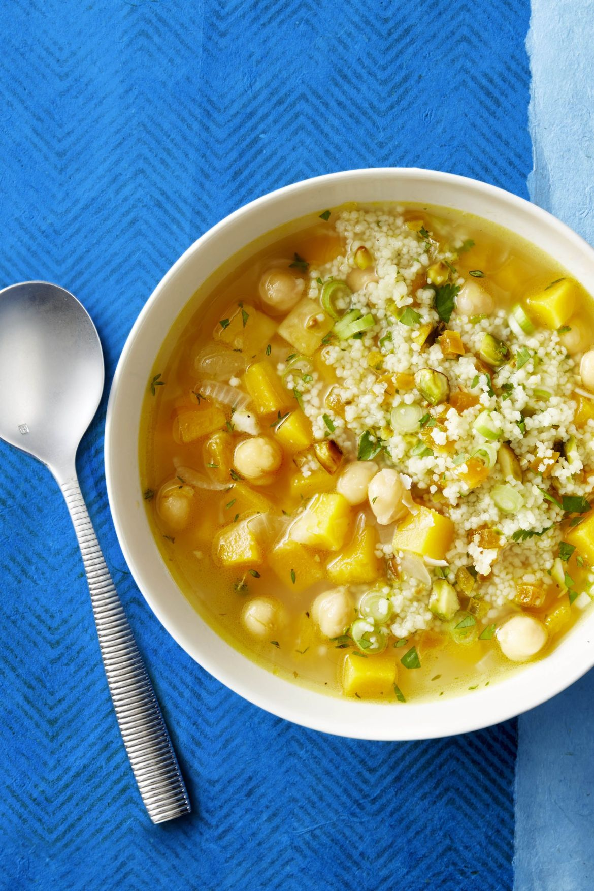 1514992748 butternut squash white bean soup ghk 0118 - Healthy Things to Eat for Lunch -19 Healthy Lunch Ideas for You