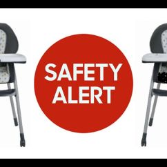High Chair Recall Reclining Wingback Chairs Sale Graco Recalled After Multiple Children Are Injured
