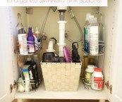 Organize Small Bathroom