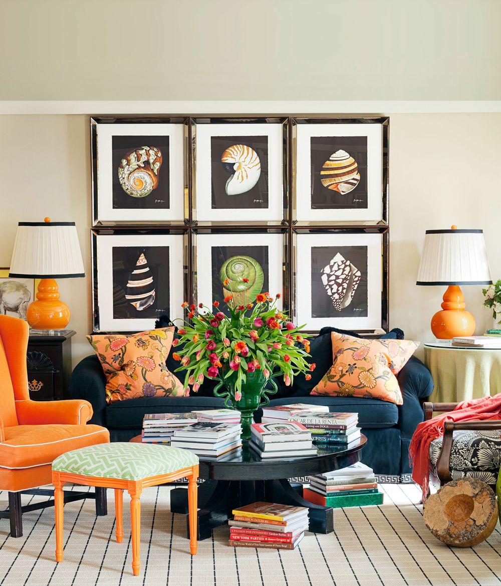 orange living room decorating ideas cote de texas rooms 51 best stylish designs