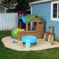 backyard play areas for