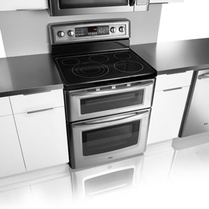 maytag gemini double oven electric