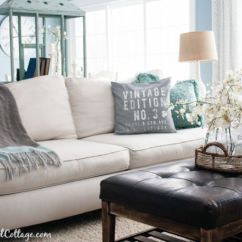 White Sofa Living Room Designs Large Wall Murals For Style A How To Decorate Couch