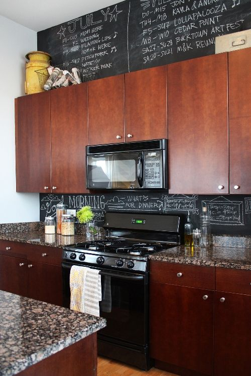 decorating space above kitchen cabinets