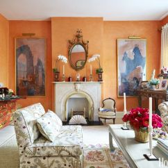 Orange Living Room Designs North Carolina Furniture 14 Best Shades Of Top Paint Colors