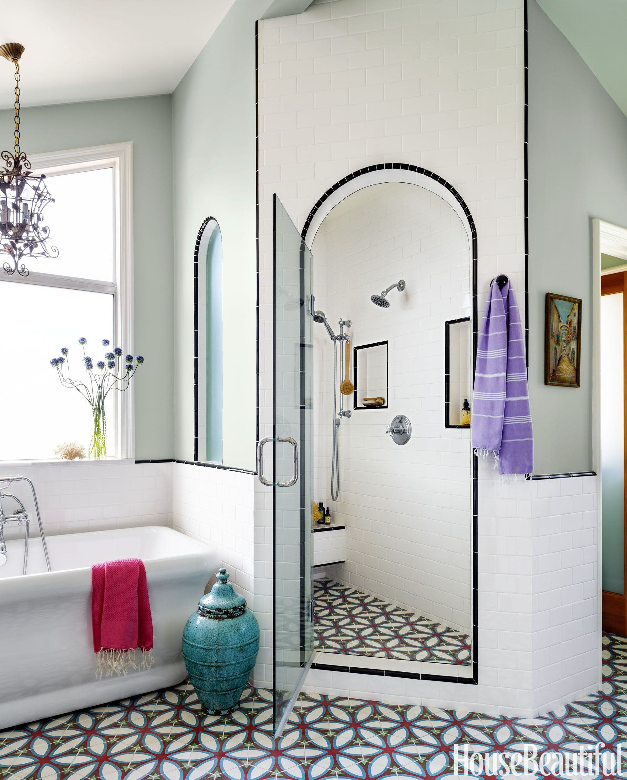 Decorating A Peach Bathroom: Ideas & Inspiration